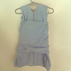 Halo fleece Sleepsack - Newborn size - blue